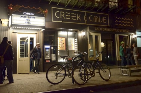 Creek and the Cave on Jackson Avenue