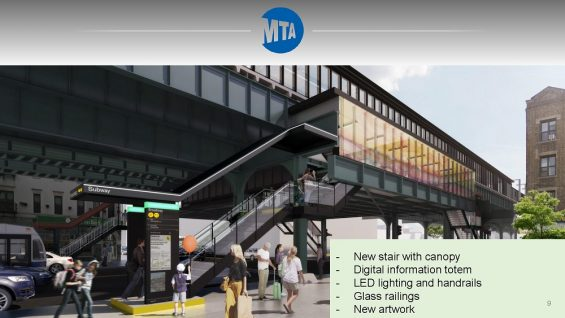 Mta Subway Map Elevators.Mta To Spend 150 Million Revamping Four Astoria Subway Stations