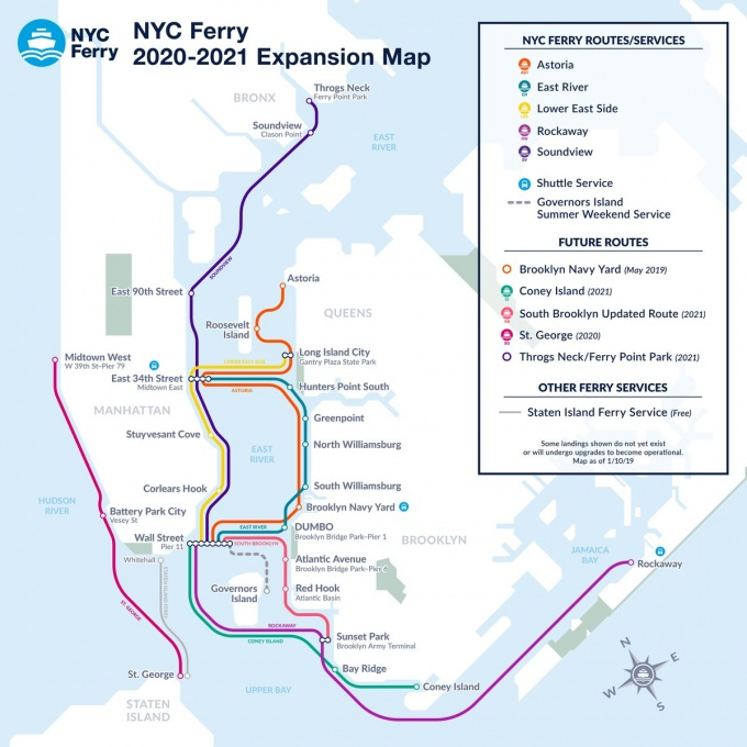 Astoria Subway Map.Astoria Ferry Route To Include Brooklyn Navy Yard This Spring
